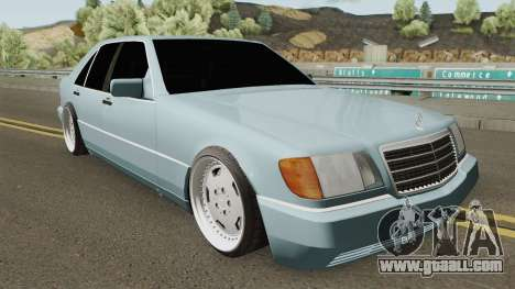 Mercedes S-Klasse W140 1991 SlowDesign for GTA San Andreas
