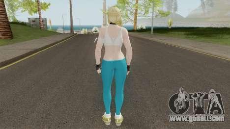 Helena (Sport Leggings) From DOA5LR for GTA San Andreas