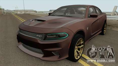 Dodge Charger Hellcat 2015 for GTA San Andreas