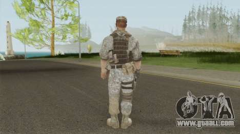 Skin 1 (Spec Ops: The Line - 33rd Infantry) for GTA San Andreas