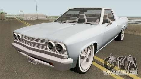 Chevrolet El Camino SS 396 (Picador Style) 1968 for GTA San Andreas