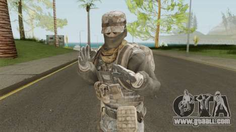 Skin 4 (Spec Ops: The Line - 33rd Infantry) for GTA San Andreas