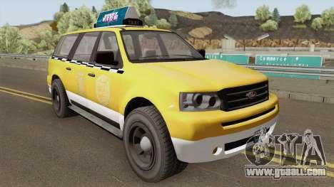 Vapid Prospector Taxi V2 GTA V for GTA San Andreas