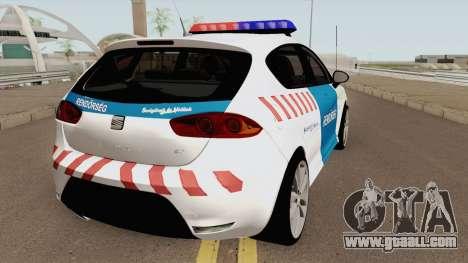 Seat Leon Cupra Magyar Rendorseg (Fixed) for GTA San Andreas