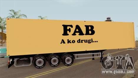 FAB Trailer for GTA San Andreas