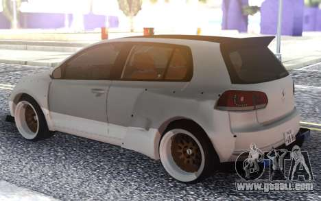 Golf GTI for GTA San Andreas