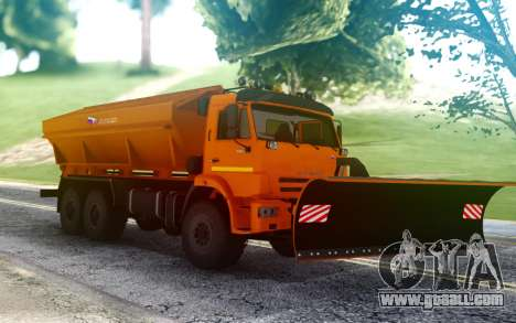 KAMAZ 43118 Combined road car for GTA San Andreas