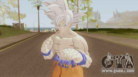 Goku Ultra Instinto Dominado for GTA San Andreas
