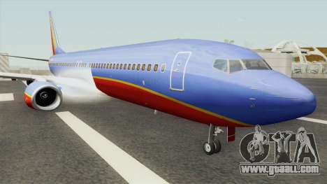 Boeing 737-800 Southwest Airlines (Canyon Blue) for GTA San Andreas