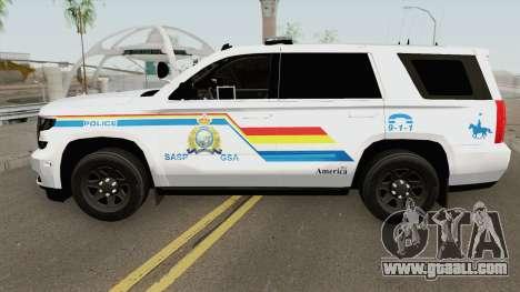 Chevrolet Tahoe SASP RCMP for GTA San Andreas
