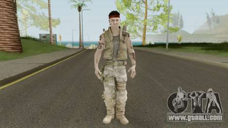 Commando (Spec Ops: The Line - 33rd Infantry) for GTA San Andreas