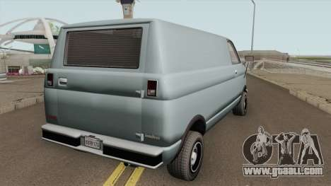 Declasse Burrito Civilian (1st Generation) GTA V for GTA San Andreas