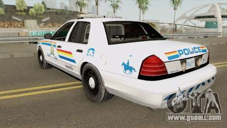 Ford Crown Victoria 2011 SASP RCPM for GTA San Andreas