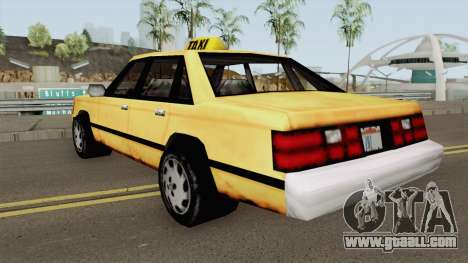 Taxi BETA for GTA San Andreas