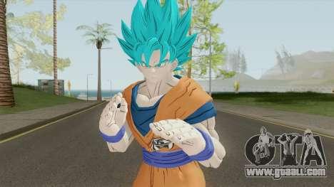 Goku SSJ Blue for GTA San Andreas