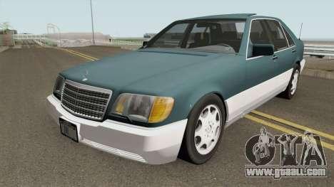 Mercedes-Benz S-Class (W140) 300SD 1992 US-Spec for GTA San Andreas