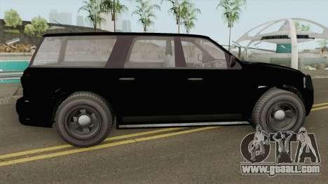 Vapid Prospector FBI V2 GTA V for GTA San Andreas