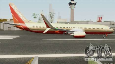 Boeing 737-800 Southwest Airlines (Desert Gold) for GTA San Andreas