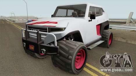 Canis Freecrawler GTA V IVF for GTA San Andreas