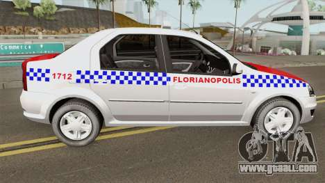 Renault Logan Taxi Florianopolis for GTA San Andreas