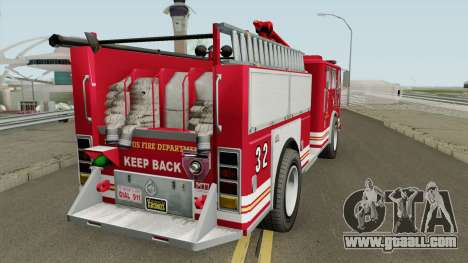 MTL Firetruck GTA V for GTA San Andreas