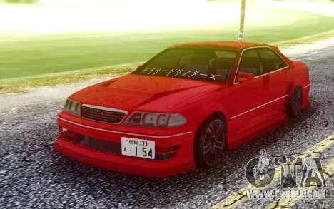 Toyota Mark II JZX100 for GTA San Andreas