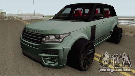 Range Rover Vogue L405 Startech for GTA San Andreas