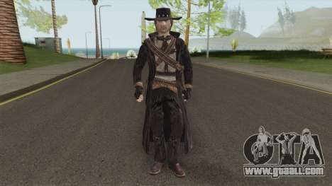 Ray McCall From Call of Juarez for GTA San Andreas