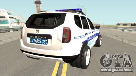 Dacia Duster Serbian Border Police for GTA San Andreas