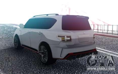 Nissan Patrol Nismo for GTA San Andreas