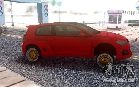 Volkswagen Pandem Golf GTI 2014 for GTA San Andreas