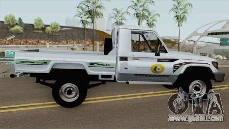 Toyota Land Cruiser Bajos Recursos for GTA San Andreas