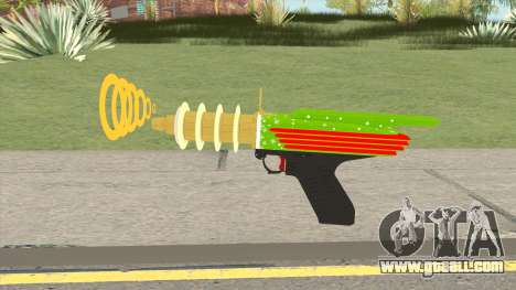 GTA Online (Arena War) Rail Gun for GTA San Andreas