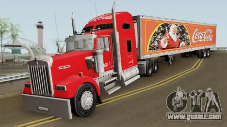 Kenworth W900 Coca Cola for GTA San Andreas