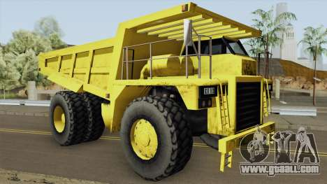 Caterpillar Dumper Basculante for GTA San Andreas