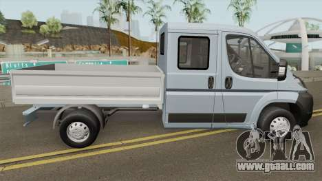 Peugeot Boxer Pickup Double Cabin for GTA San Andreas