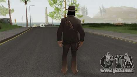 John Marston Elegant Outfit From RDR 2 V2 for GTA San Andreas