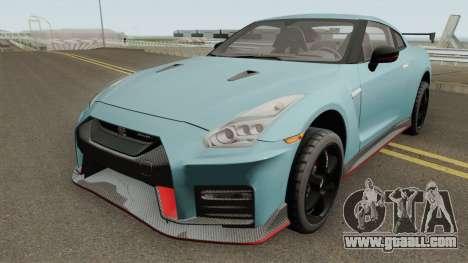 Nissan GT-R R35 NISMO 2018 for GTA San Andreas
