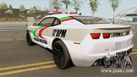Chevrolet Camaro PMSC for GTA San Andreas