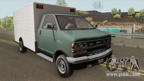 Brute BoxCar GTA V for GTA San Andreas
