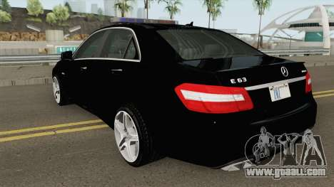 Mercedes-Benz E63 AMG Magyar Rendorseg for GTA San Andreas