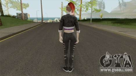 Skin From Amazing Player Female Mod for GTA San Andreas