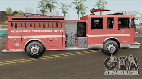 Firetruk Bombeiros SP (MG) for GTA San Andreas