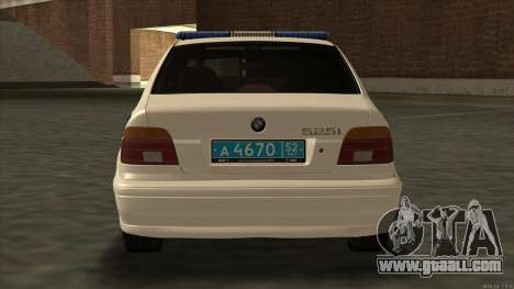 BMW 525i Moi for GTA San Andreas