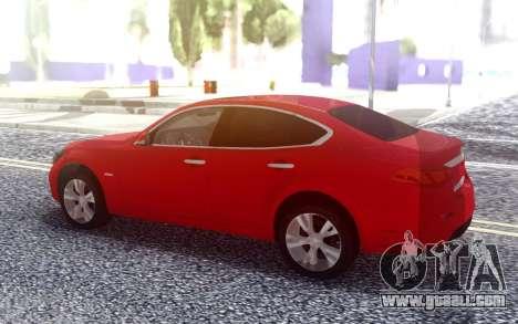 Infiniti Q70 for GTA San Andreas