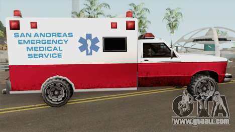 Ambulance From 70s for GTA San Andreas