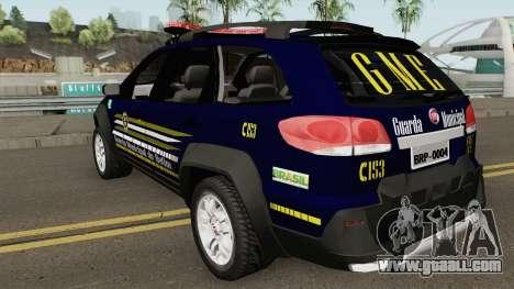 Fiat Palio Weekend Locker 2013 GM de BETIM for GTA San Andreas