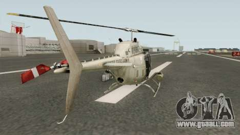 Bell OH-58A Kiowa for GTA San Andreas