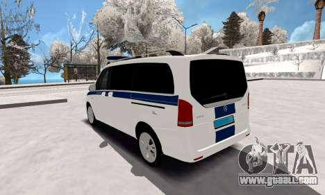 Mercedes Benz Vito Police for GTA San Andreas