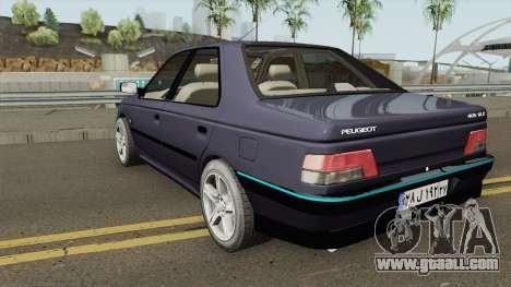 IKCO Peugeot 405 GLX for GTA San Andreas